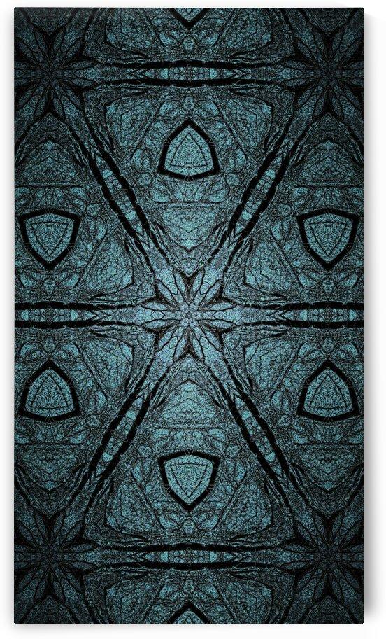 Grayish Green Kaleidoscope by Jeremy Lyman