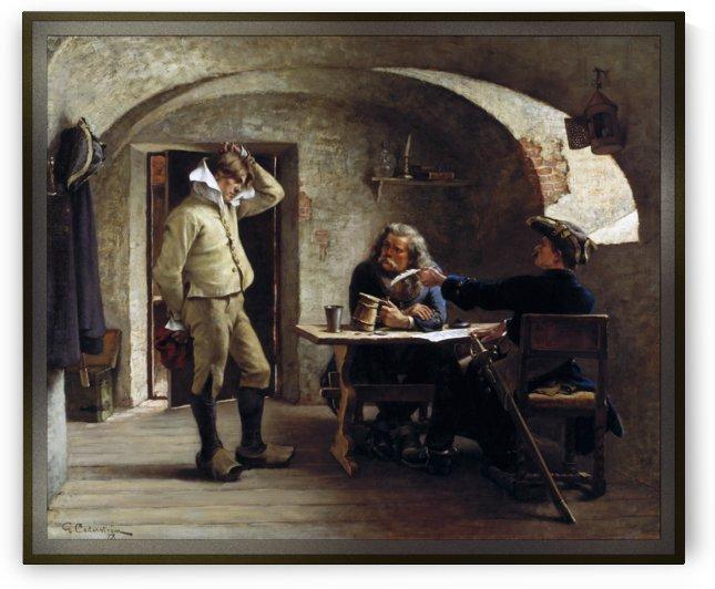 Recruiting Sergeants by Gustaf Olof Cederstrom by xzendor7