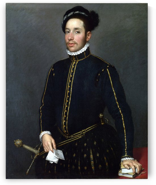 Portrait of a Gentleman ('Il Gentile Cavaliere') by Giovanni Battista Moroni