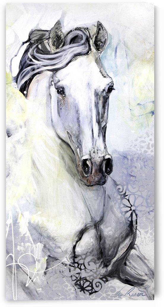 24x48 toile verni mat 2  by Lea Riviere