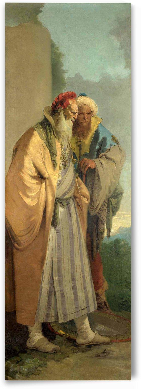 Two Men in Oriental Costume by Giovanni Battista Tiepolo