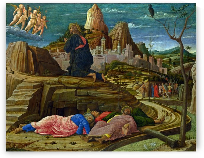The Agony in the Garden by Giovanni Bellini