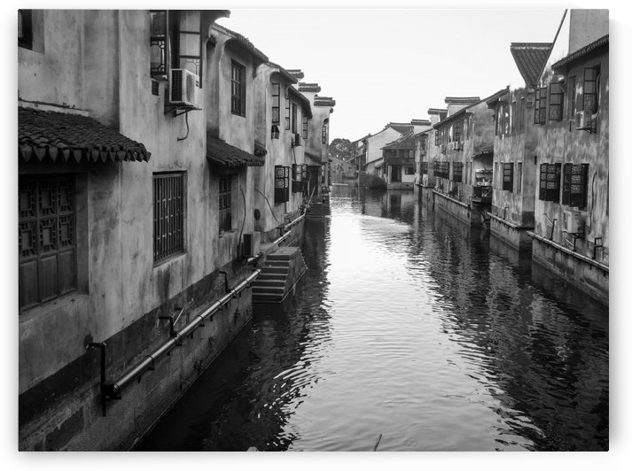 Canal in Xitang - China by Robert Knight