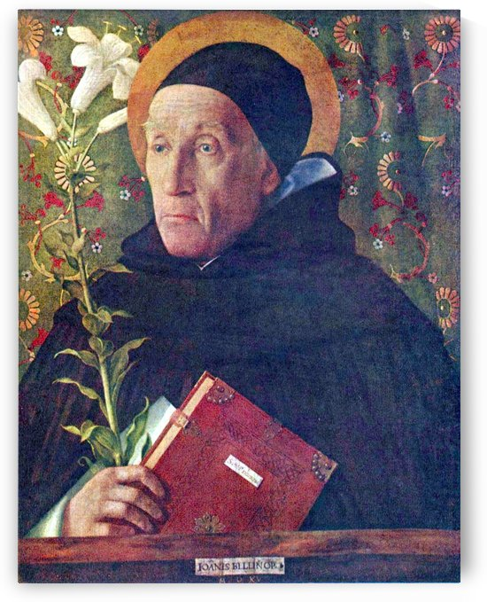 Saint Dominic by Giovanni Bellini