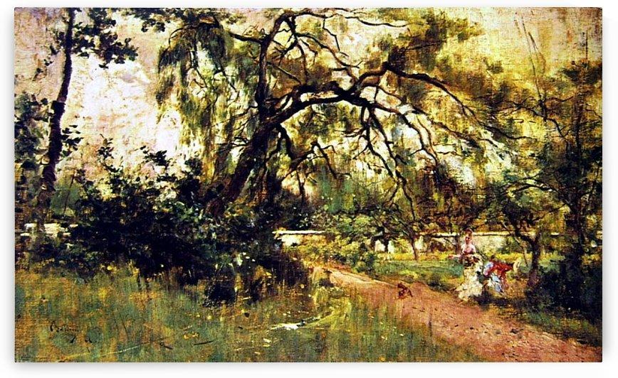 In the Park by Giovanni Boldini