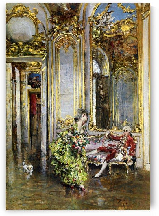 A Friend of Marquis by Giovanni Boldini