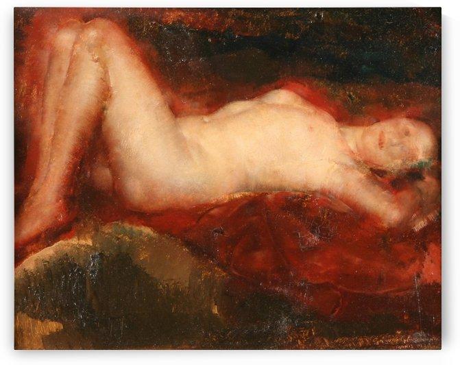 Nude (2) by Grigory Gluckmann