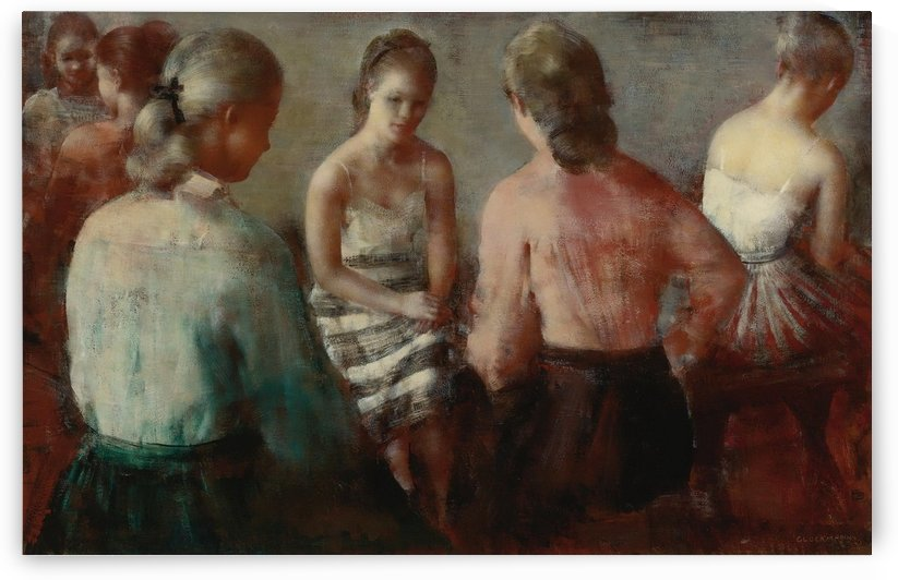 The Gathering by Grigory Gluckmann