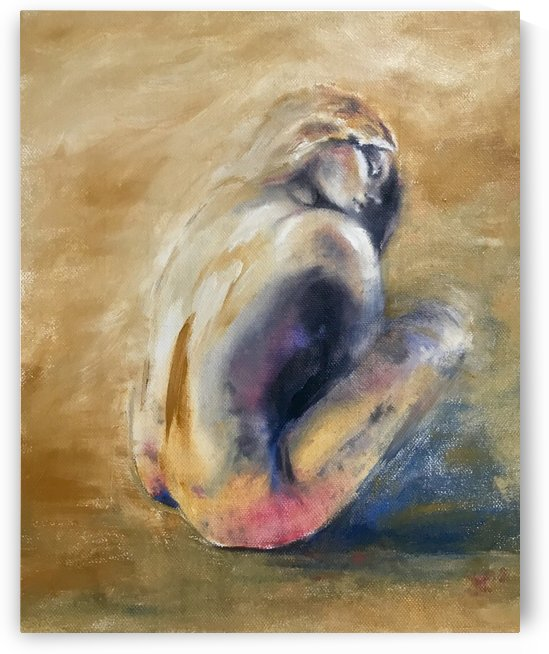 The beautiful back by Jackie Rimmer