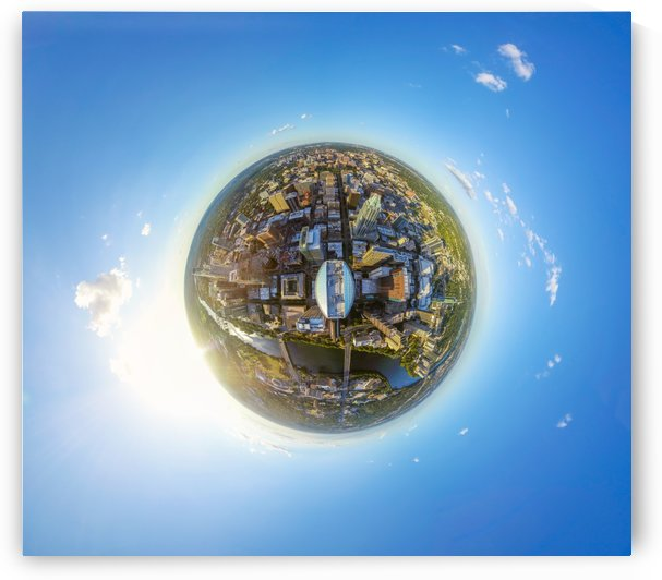 Tiny Planet - The Austonian by Infinity Design and Photography