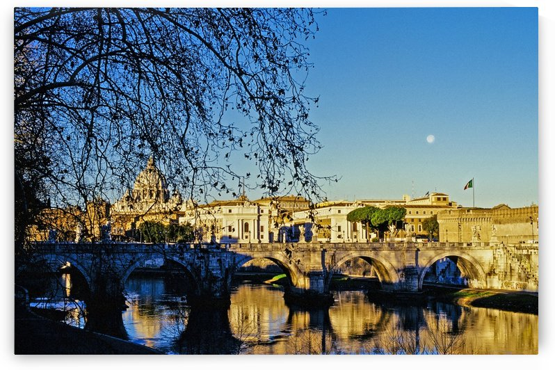 A Christmas morning in Roma by Michael Anthony