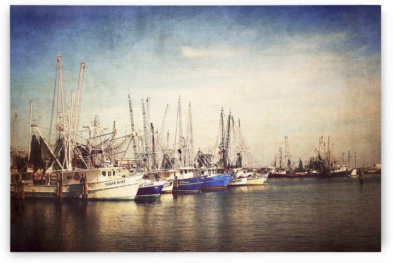 Shrimp Boats Art by JMcCool