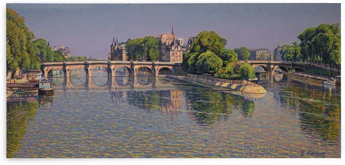 Pont Neuf by Gustave Cariot