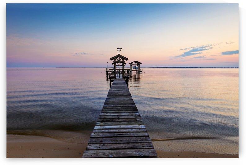 Coastal Pier by JMcCool