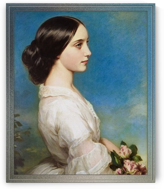 Carmen Aguado Duchess of Montmorency by Franz Xaver Winterhalter by xzendor7