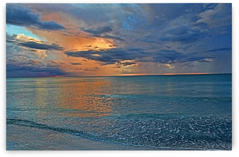 Sunset–After The Storm by HH Photography of Florida