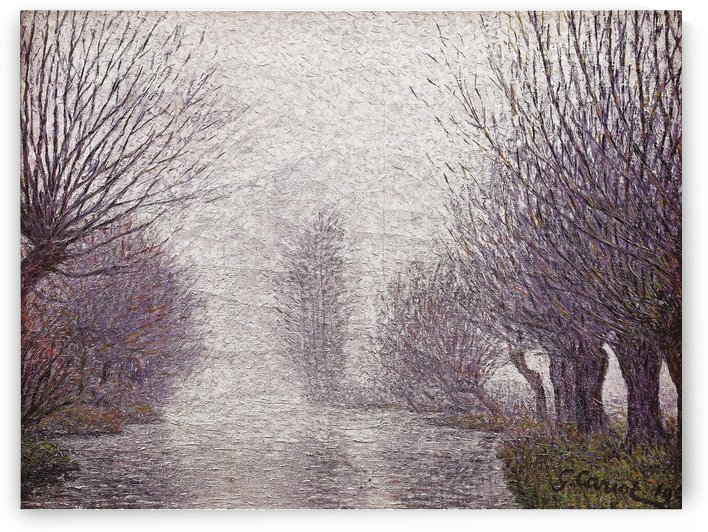 The Willows near the Mill by Gustave Cariot