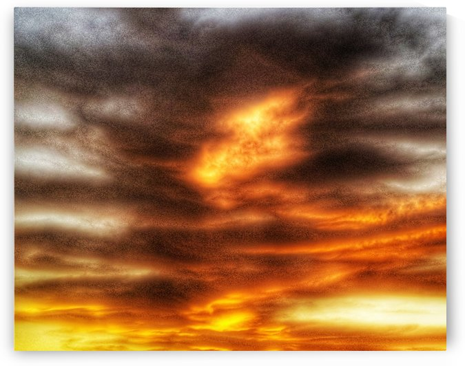 Fire Tennessee sky 2.0 by Craig O