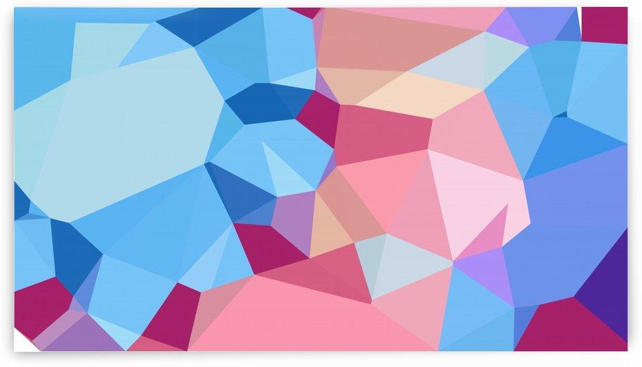 abstract geometric triangular art by eigens