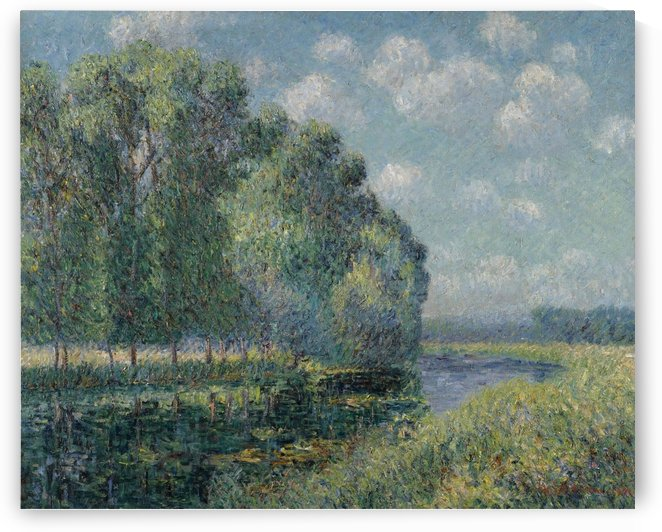 The Bena of the Eure by Gustave Loiseau