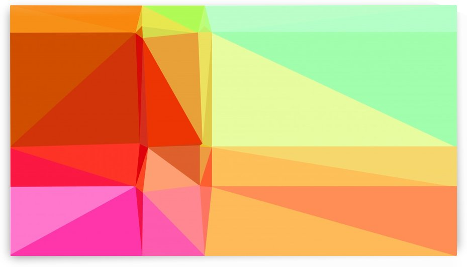abstract colorful geometric shapes by eigens