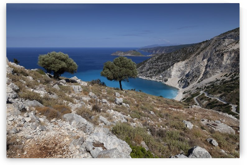 The Greek island of Kefalonia by Leighton Collins