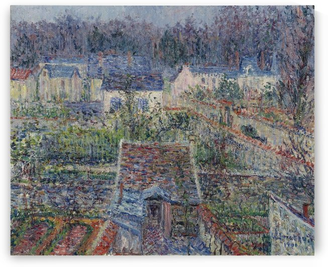 The Village of Triel by Gustave Loiseau