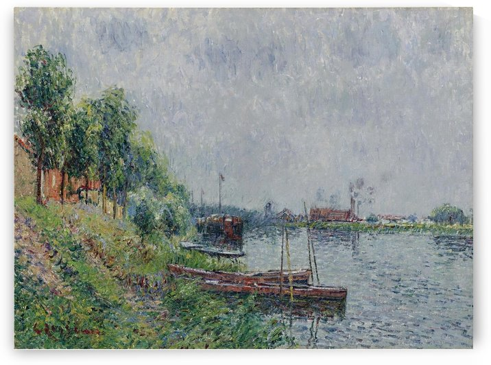 The Riverbank, Oise by Gustave Loiseau