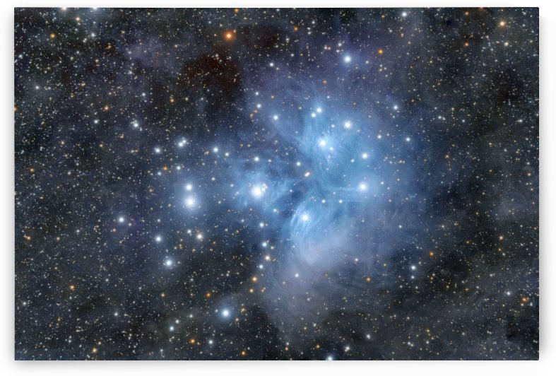 M 45  Pleiades  by Dave Robitaille