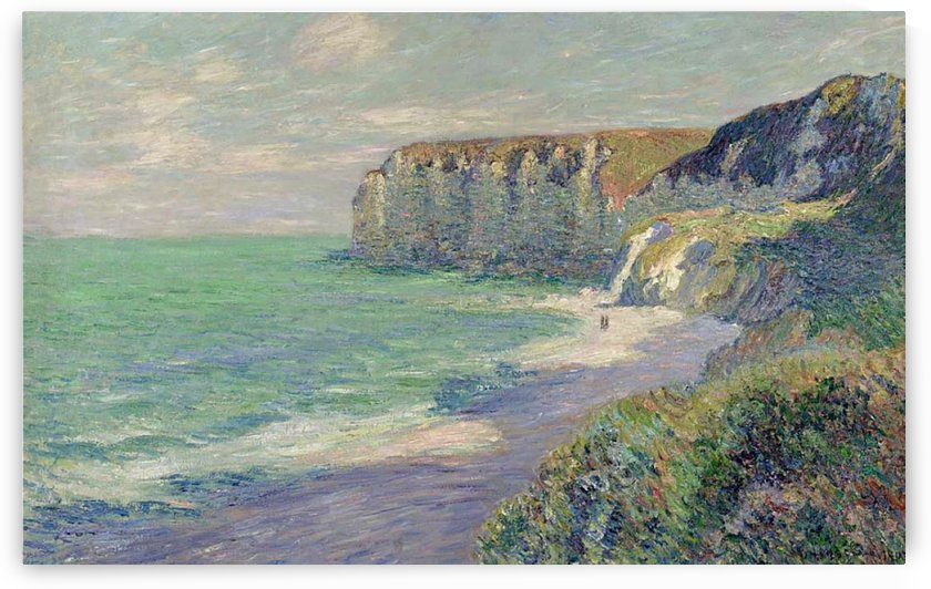 The Cliffs of Saint-Jouin by Gustave Loiseau
