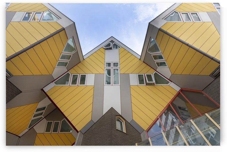 Overblaak Street - Rotterdam Netherlands by Gerald Cummins