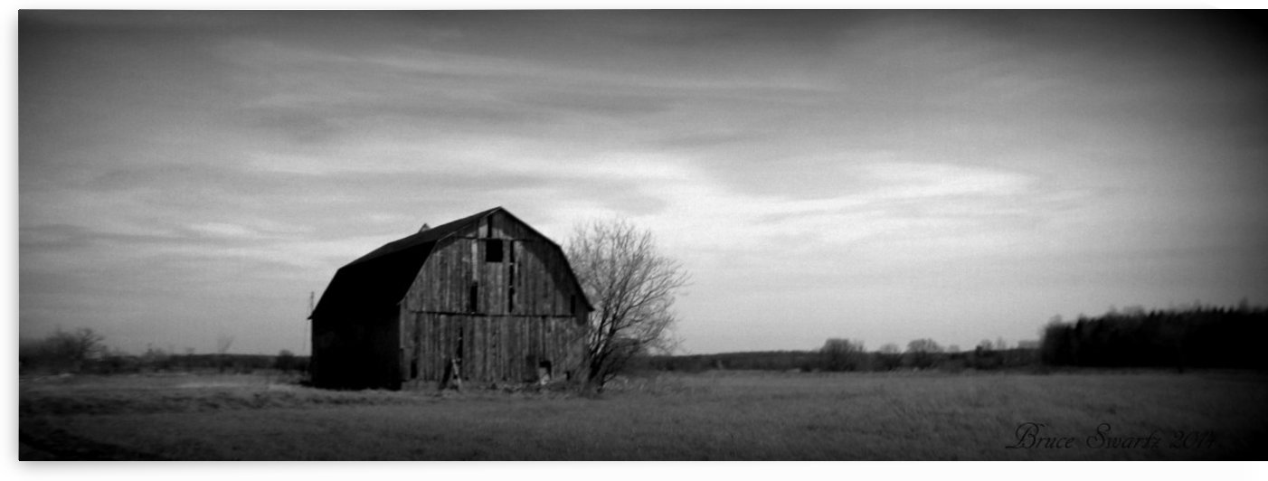 The Lonely Barn  by Bruce Swartz