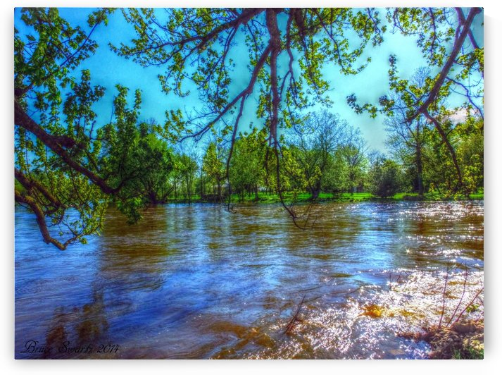 Riverside Moments HDR by Bruce Swartz