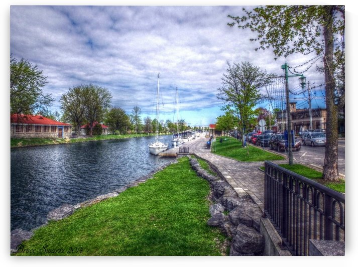 Sailboat Boardwalk HDR by Bruce Swartz