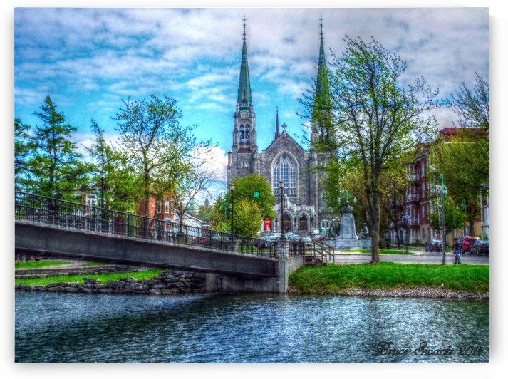 Cathedral Waterway & Bridge HDR by Bruce Swartz