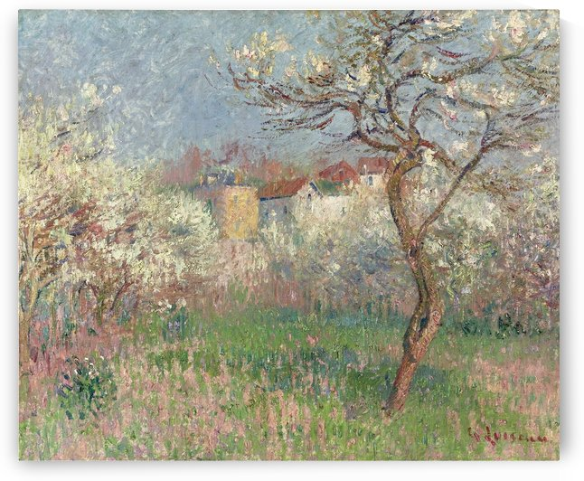 Spring, Outskirts of Pontoise by Gustave Loiseau