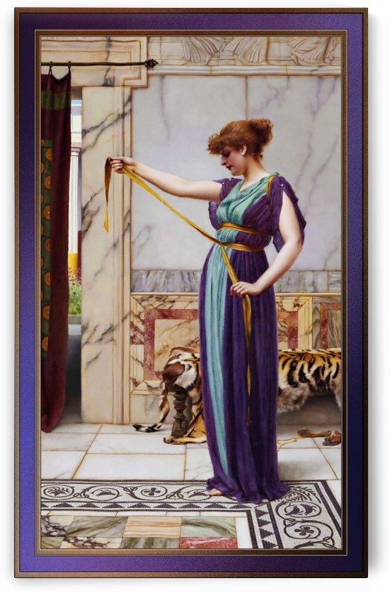 A Pompeian Lady by John William Godward by xzendor7