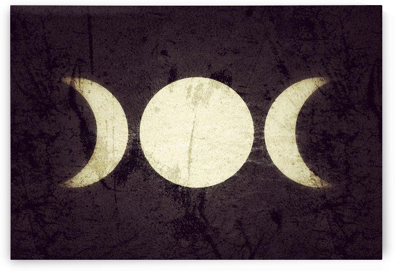 Triple Moon Goddess  by Leah McPhail