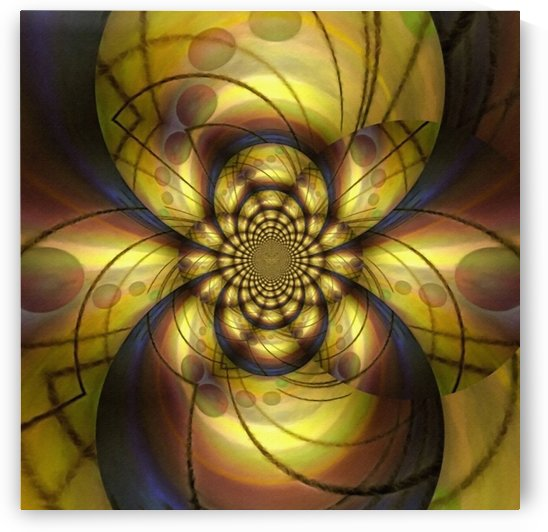 Geometric Fractal by Bruce Rolff