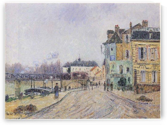 Street of Pontoise by Gustave Loiseau
