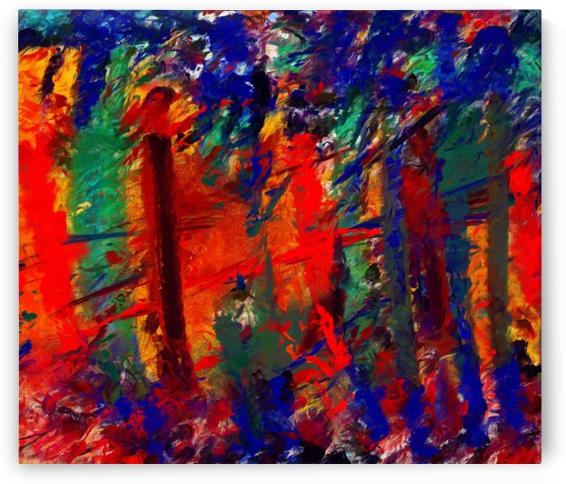 NKL abstract-101 by Neal Golden