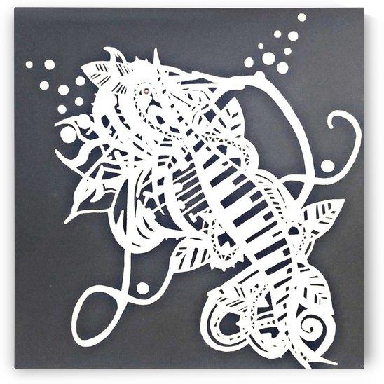 Cheval de mer gris  by Jodygraphe