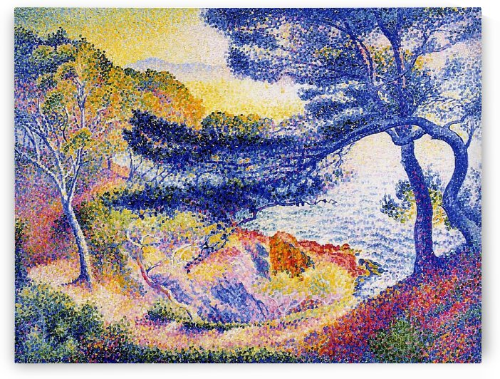 The Garden at Provence by Henri Edmond Cross