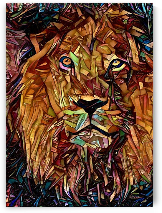 Lions Head  by Gabriella David