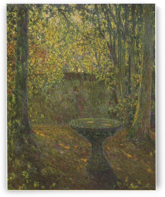Trimed Trees by Henri Le Sidaner