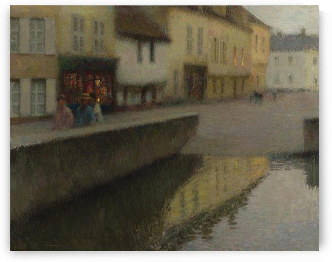 Le Miroir by Henri Le Sidaner
