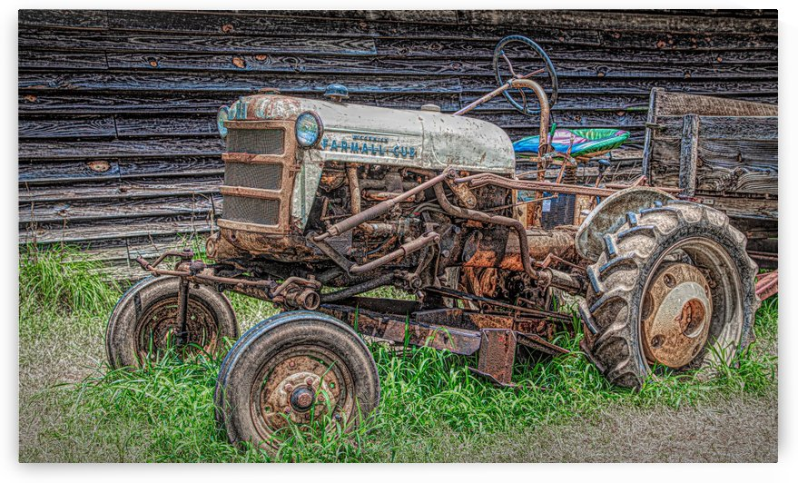 Old Farmall Cub by Darryl Brooks