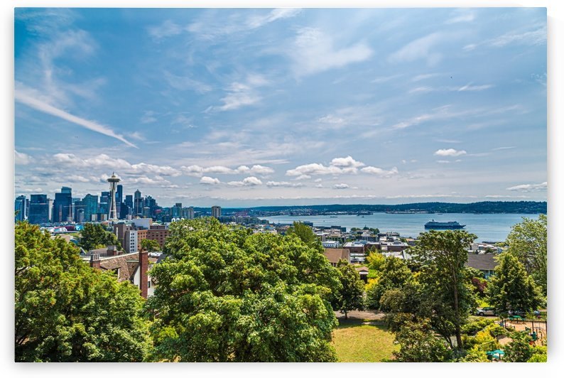 Seattle and Puget Sound by Darryl Brooks