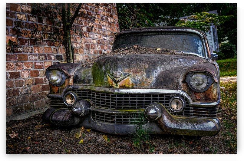Old Caddy by Brick Wall_1570792015.803 by Darryl Brooks