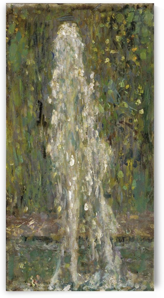 The Waterjet by Henri Le Sidaner
